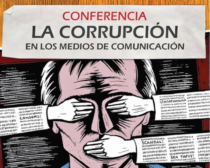 """Viernes 6 de Abril:""""La corrupción en los medios de comunicación"""" por Jesús Muñoz."""