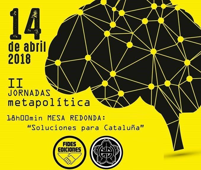 Sábado 14, Nacho Larrea en las IIª Jornadas de Metapólitica