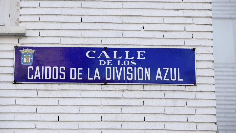 """Varapalo judicial a Carmena por la calle """"Caídos de la División Azul"""""""