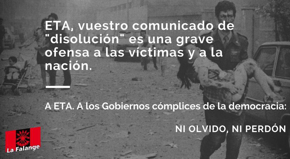 Nueva intervención en radio de Jesús Muñoz por la disolución de ETA