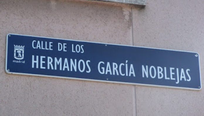 Nuevo varapalo judicial a Carmena por la calle a los hermanos García Noblejas