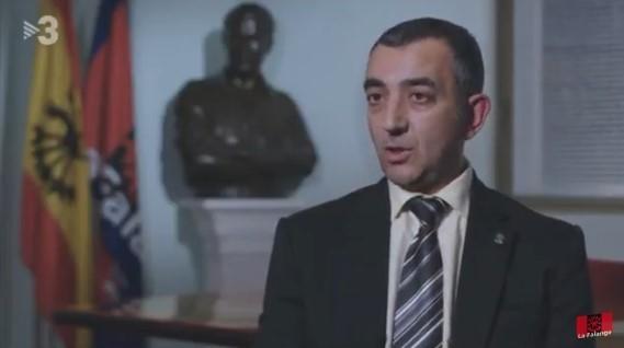 """Palabras del Jefe Nacional de La Falange en el programa """"30 minutos"""" de TV3"""