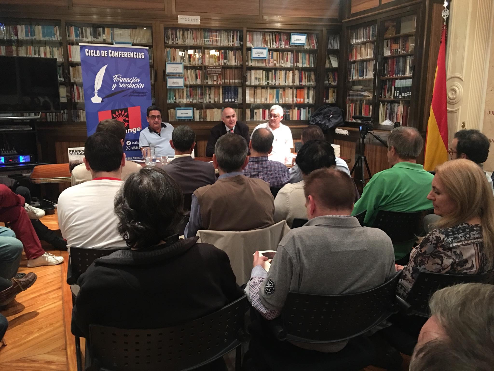 """Vídeo de la presentación de """"Franco Socialista"""" a cargo de Francisco Torres"""