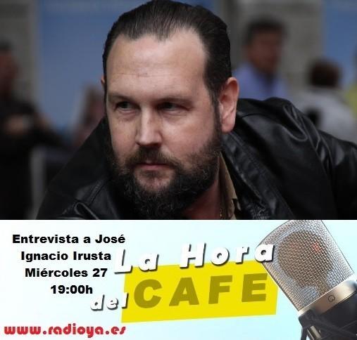 """Entrevista a José Ignacio Irusta en """"La Hora del CAFE"""" -audio íntegro-"""