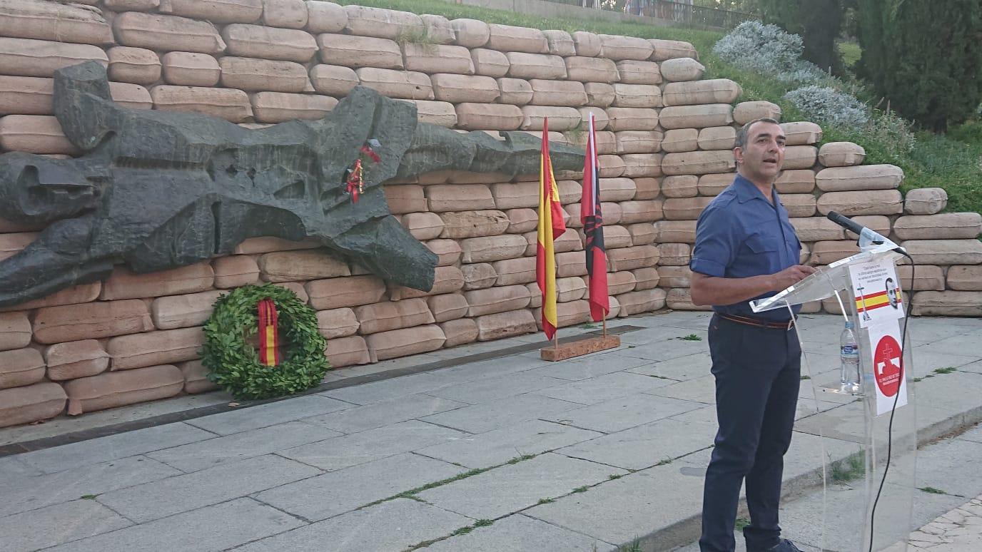 Acto de homenaje a los Caídos en el Cuartel de la Montaña -incluye vídeo-