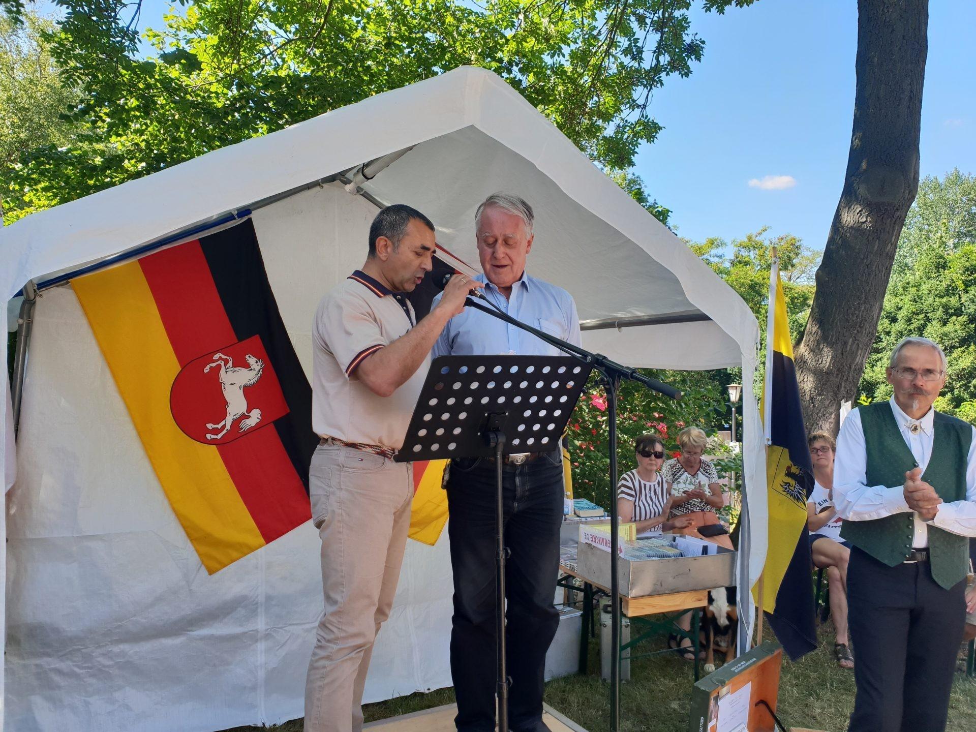 Discurso de Manuel Andrino en el Sommerfest del NPD