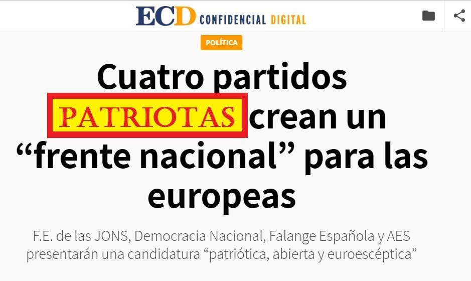 La Coalición para las elecciones Europeas sigue dando que hablar en los medios.