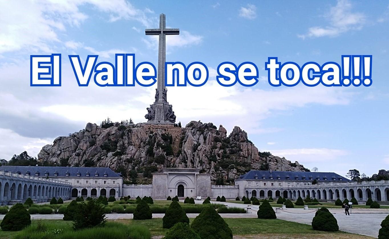 """""""La profanación del Valle de los Caídos y todos sus culpables"""" por Jesús Muñoz"""