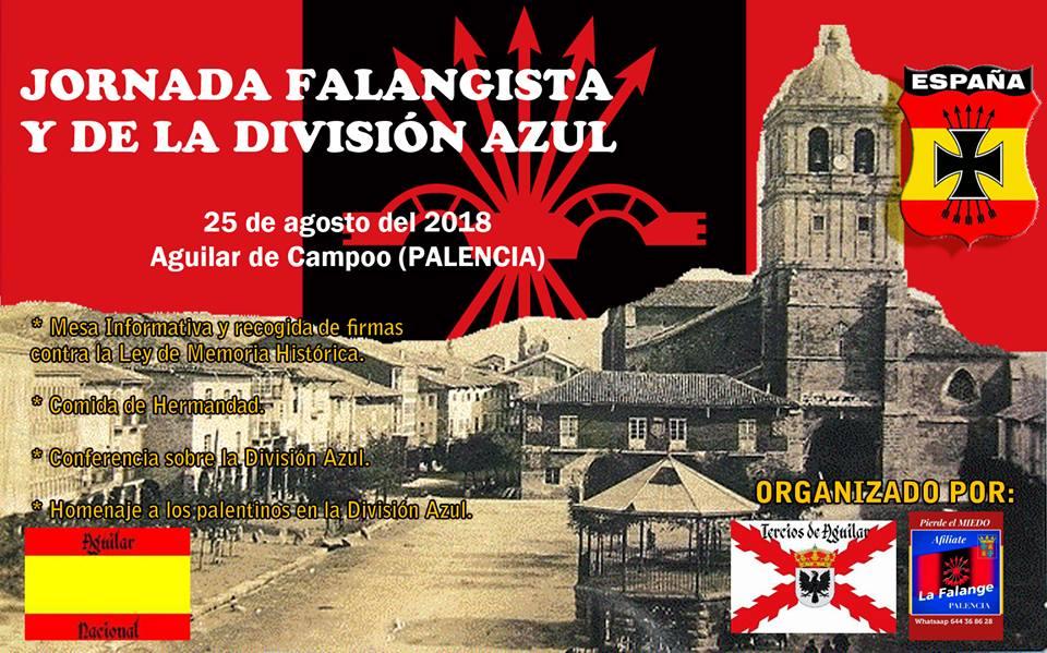 25 de Agosto: Jornada Falangista en Aguilar de Campoo (Palencia)