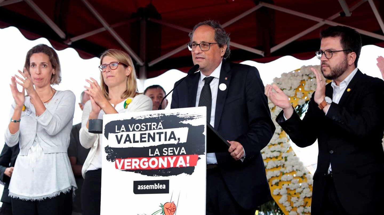 Amenaza del presidente de la Generalidad y complicidad del Gobierno de España