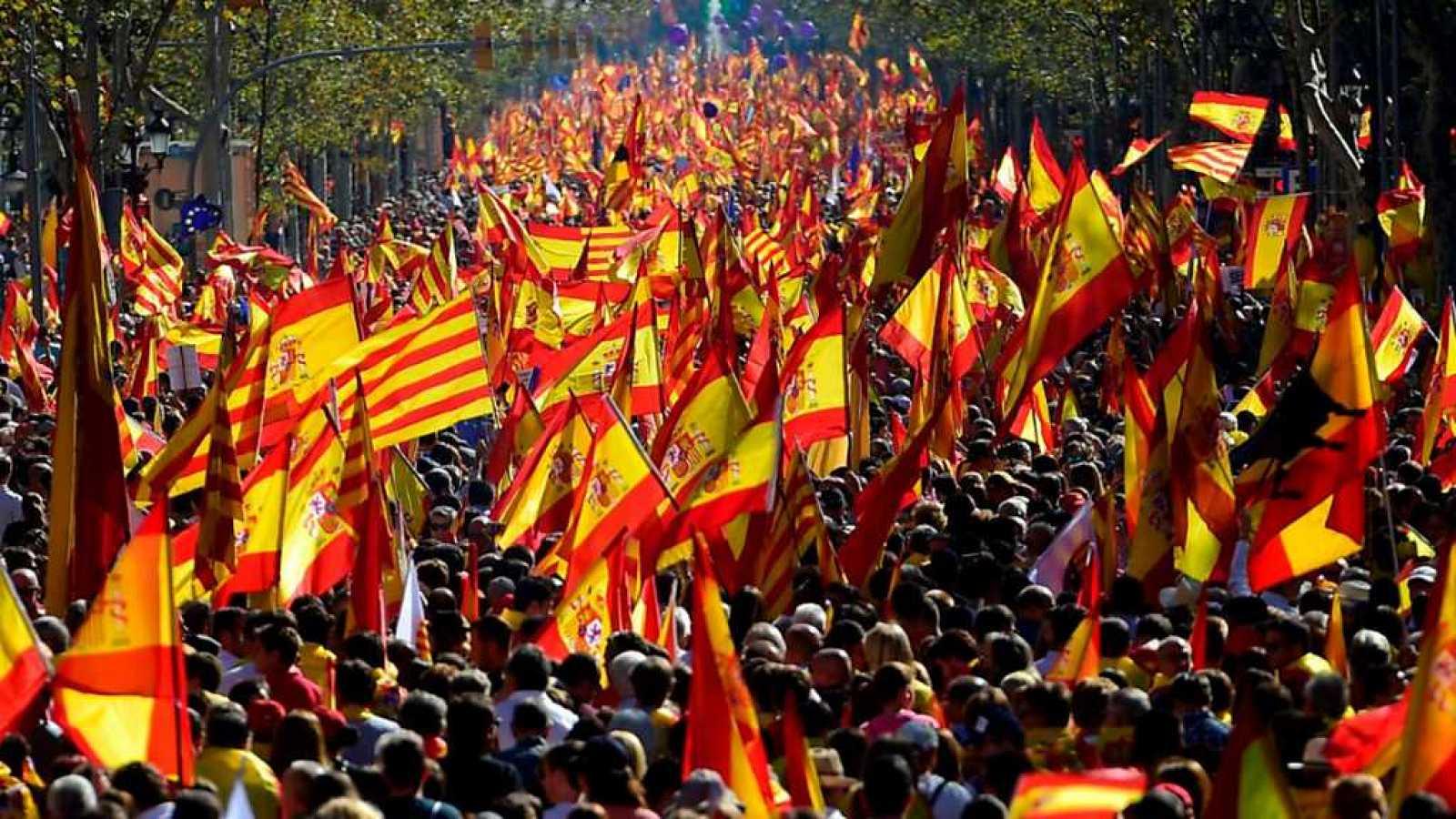 """""""Cataluña es el foco de la rebeldía por España, no les abandonaremos"""". Por Jesús Muñoz"""