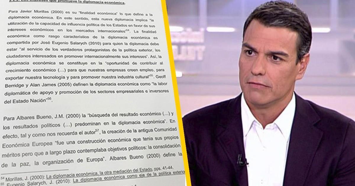 ¿Ha de dimitir Pedro Sánchez por su tesis doctoral? Responde Jesús Muñoz en la Inter
