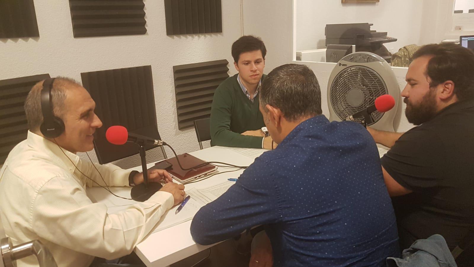 """""""La Hora del CAFÉ"""" con Jesús Muñoz, Gonzalo Martín, David López y Manuel Andrino"""
