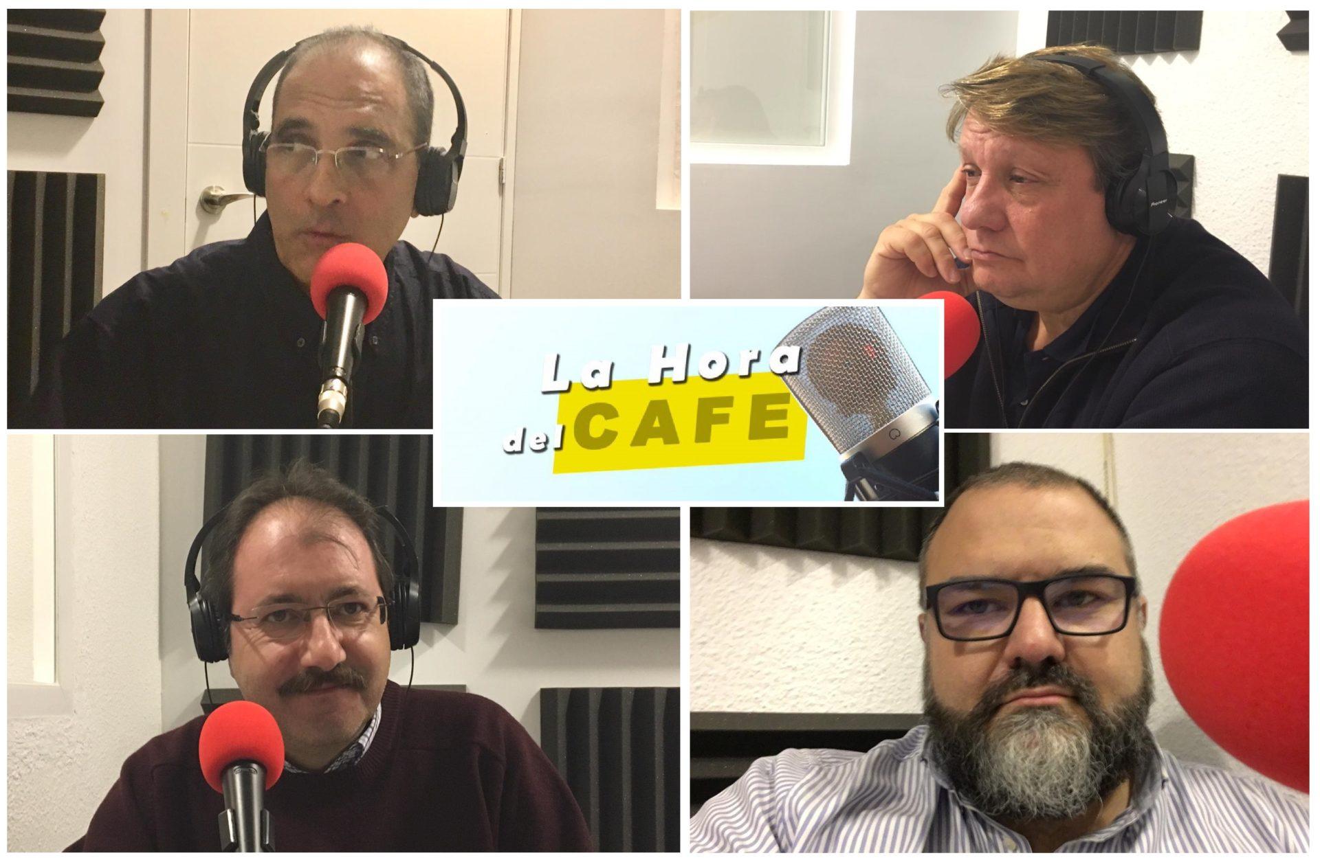 """Nueva edición de """"La Hora del CAFÉ"""" con Martín Ynestrillas, Luis Mateos y Norberto Pico"""