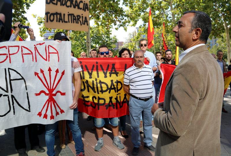 Palabras de Manuel Andrino ante lo acontecido en Cataluña