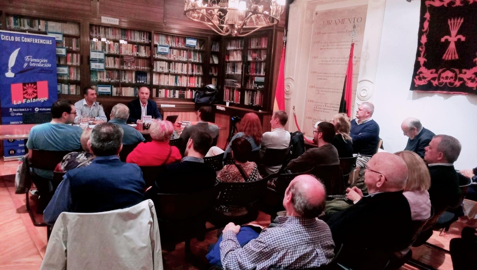 """Vídeo del viernes cultural """"Nazis en España"""" a cargo de Javier Mas"""