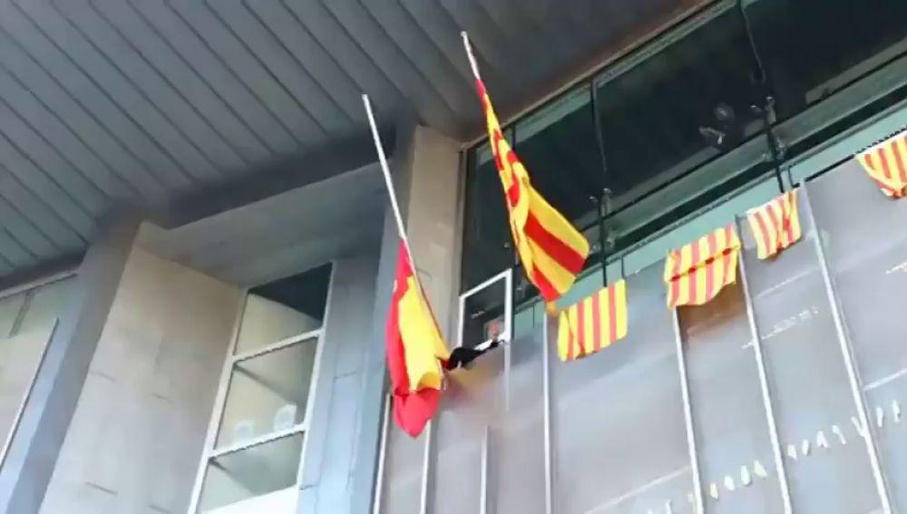 El Estado en Cataluña colabora con la violencia separatista