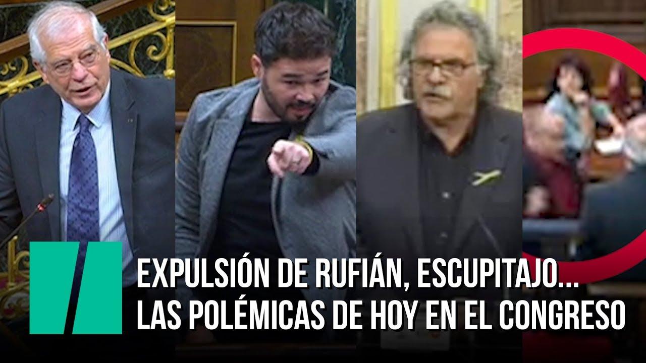 """""""40 años de escupitajos en el Congreso de los Diputados"""" por Jesús Muñoz"""