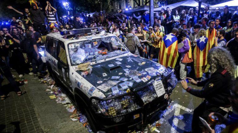 A vueltas con el probable indulto a los separatistas catalanes