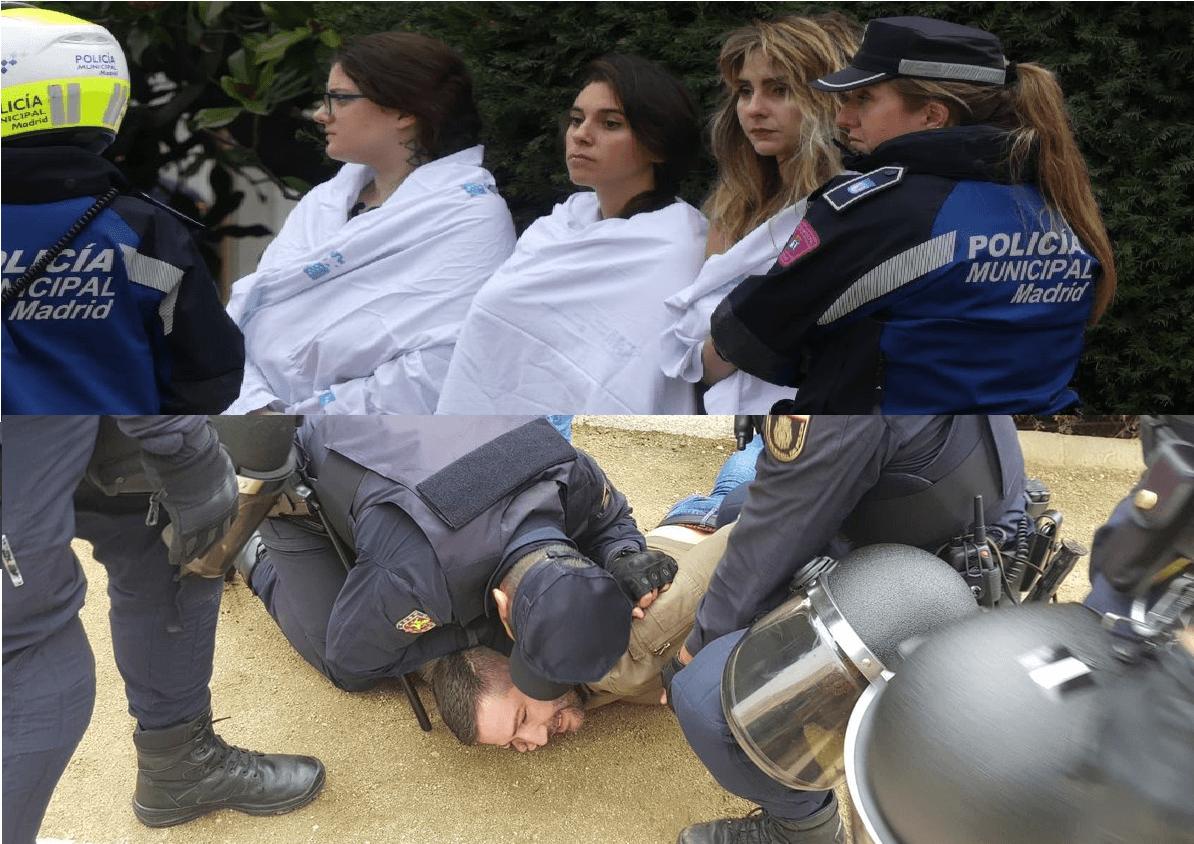 """Reflexiones del canal """"Hispania Eterna"""" sobre el ataque de Femen en Plaza de Oriente"""