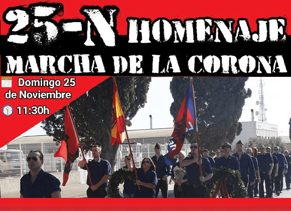 Domingo 25-Nov: Homenaje a José Antonio en Alicante