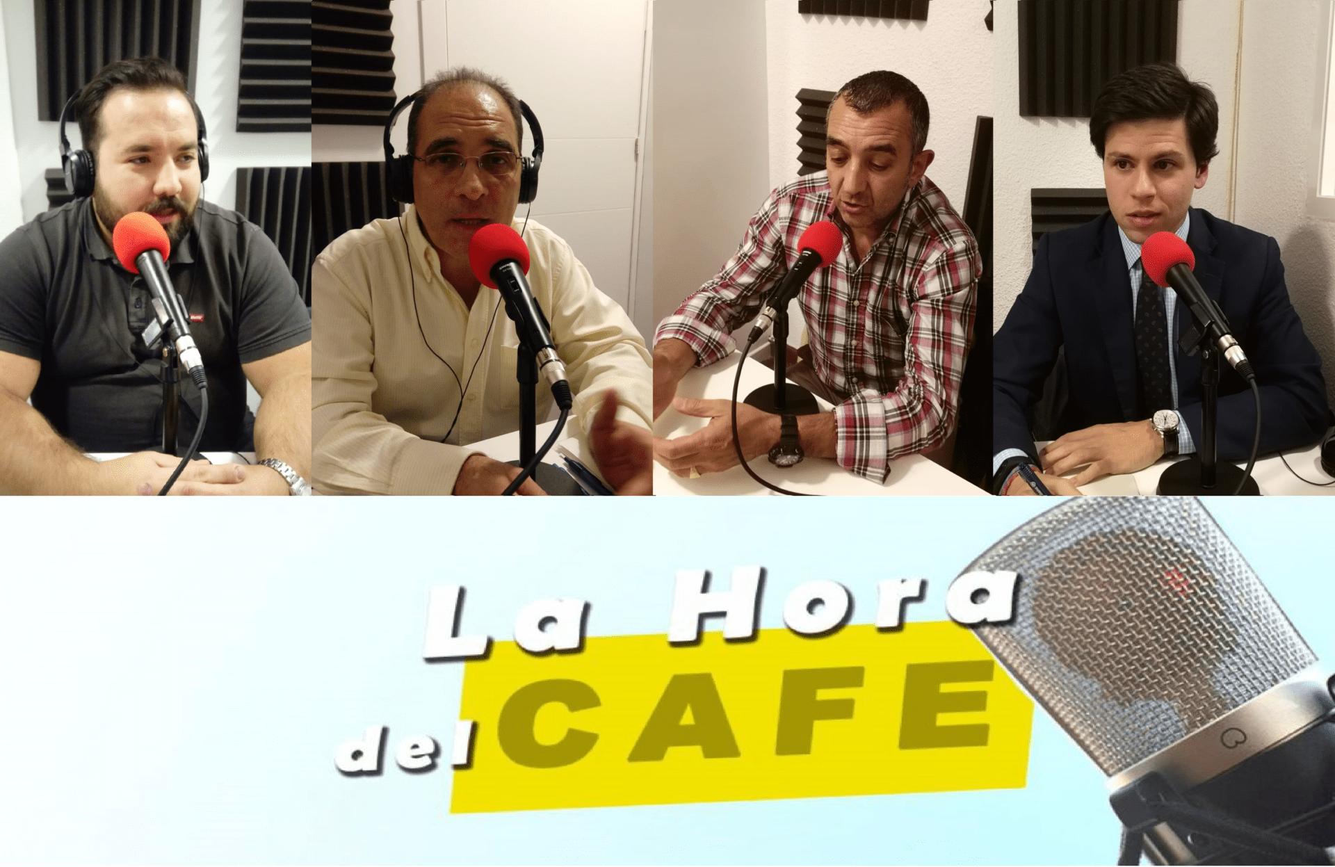 """""""La Hora del CAFÉ"""" con Gonzalo Martín, David López y Manuel Andrino"""