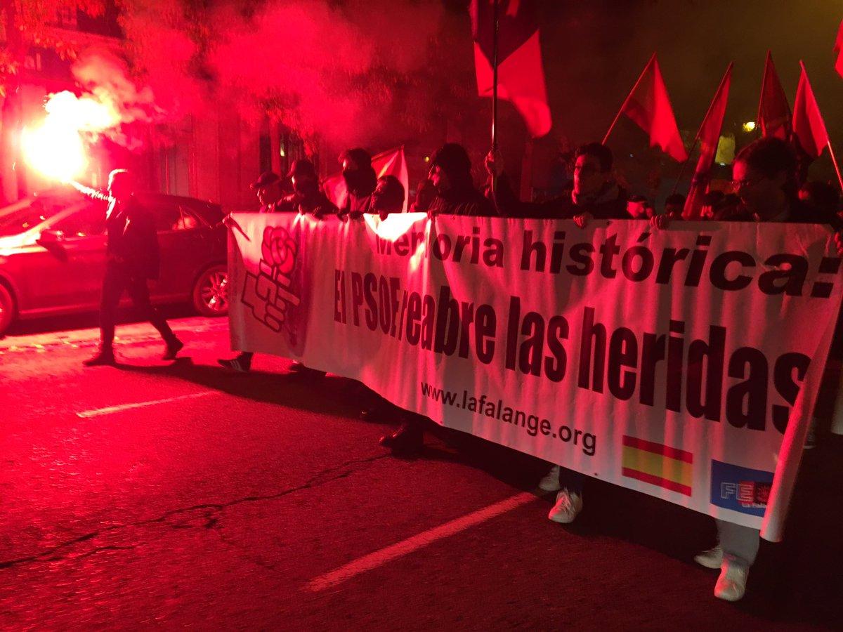 Acto político y manifestación: José Antonio ¡VIVE! (vídeo)