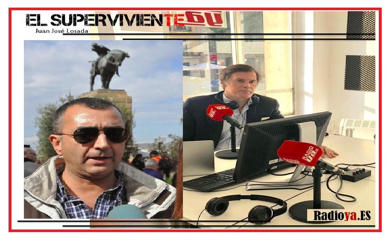 """""""El superviviente"""" de Radio Ya entrevista a Manuel Andrino"""