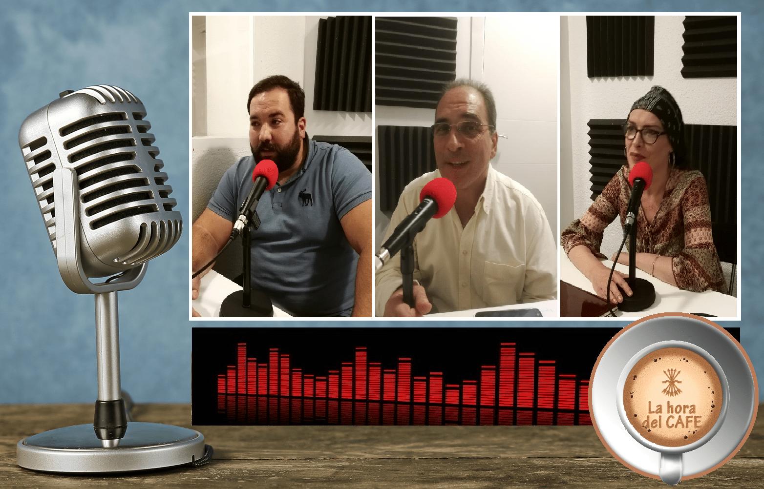 """""""La Hora del CAFÉ"""" con Jesús Muñoz, Chía y Gonzalo Martín"""