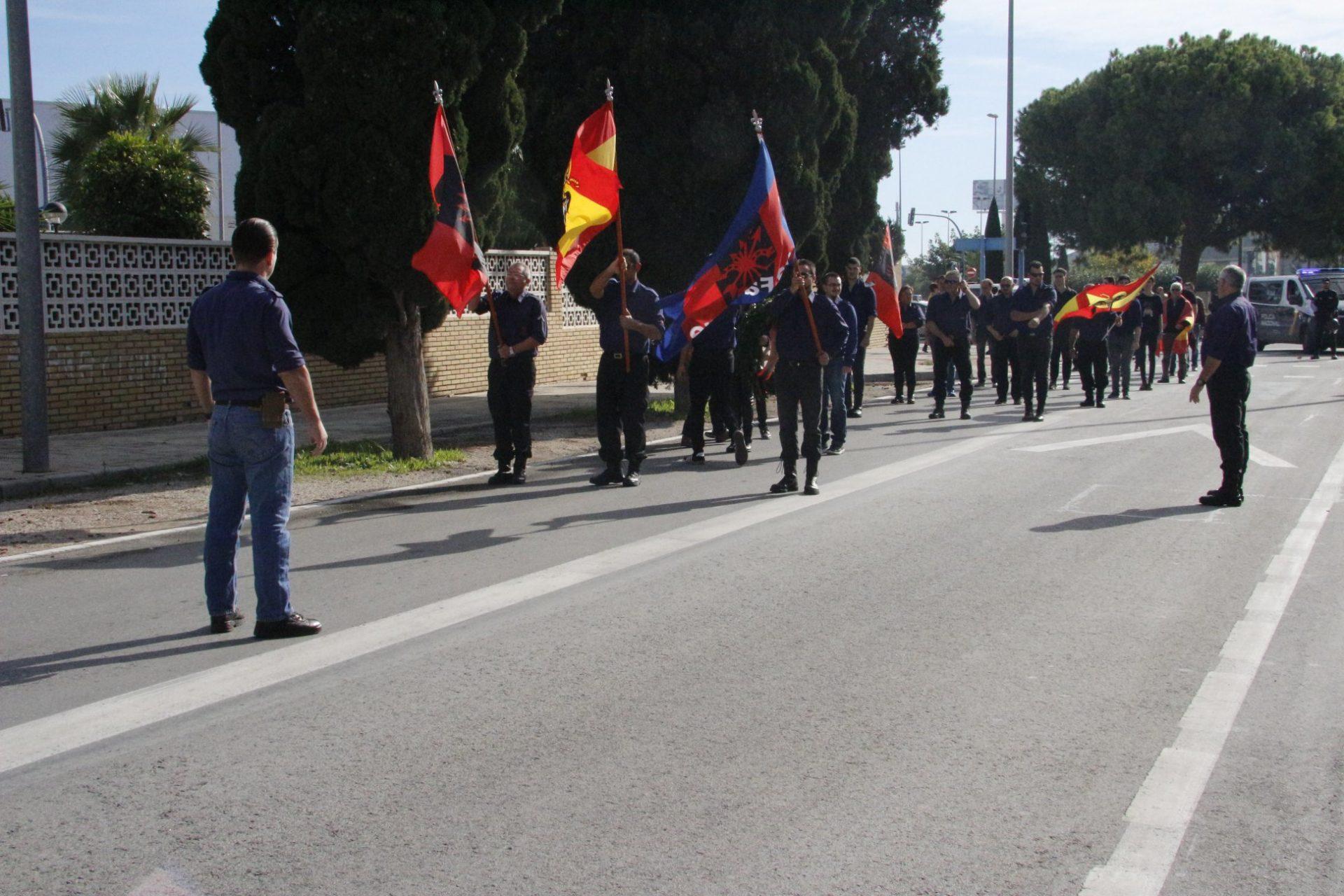 Imágenes del Homenaje a José Antonio en Alicante