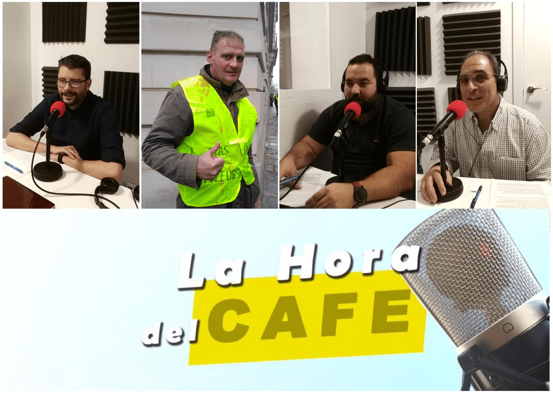 La Hora del CAFÉ con Yvan Benedetti, Gonzalo Martín y Luis Alonso
