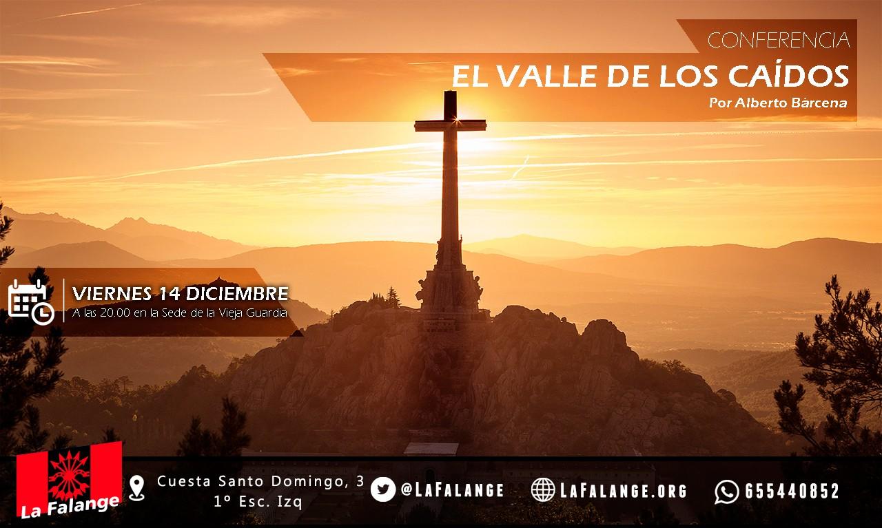 14-dic: Viernes cultural sobre el Valle de los Caídos con Alberto Bárcena