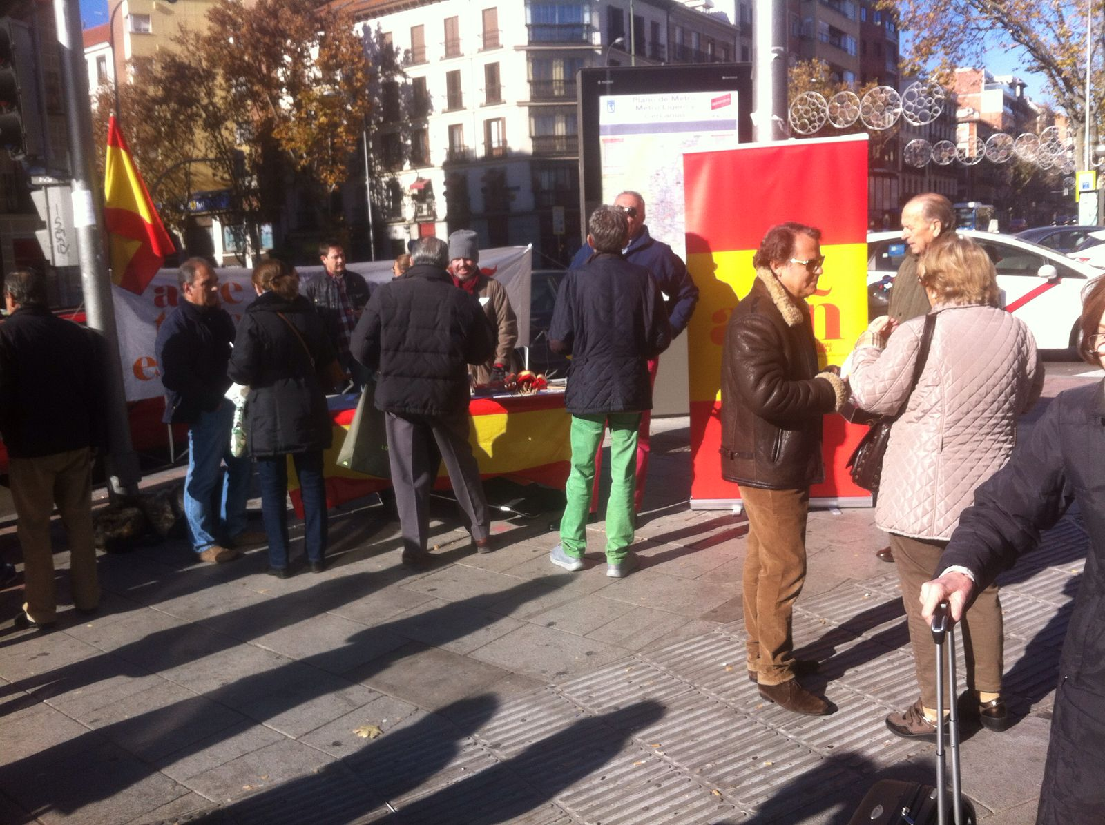 Nuevo éxito de ADÑ en Argüelles (Madrid)