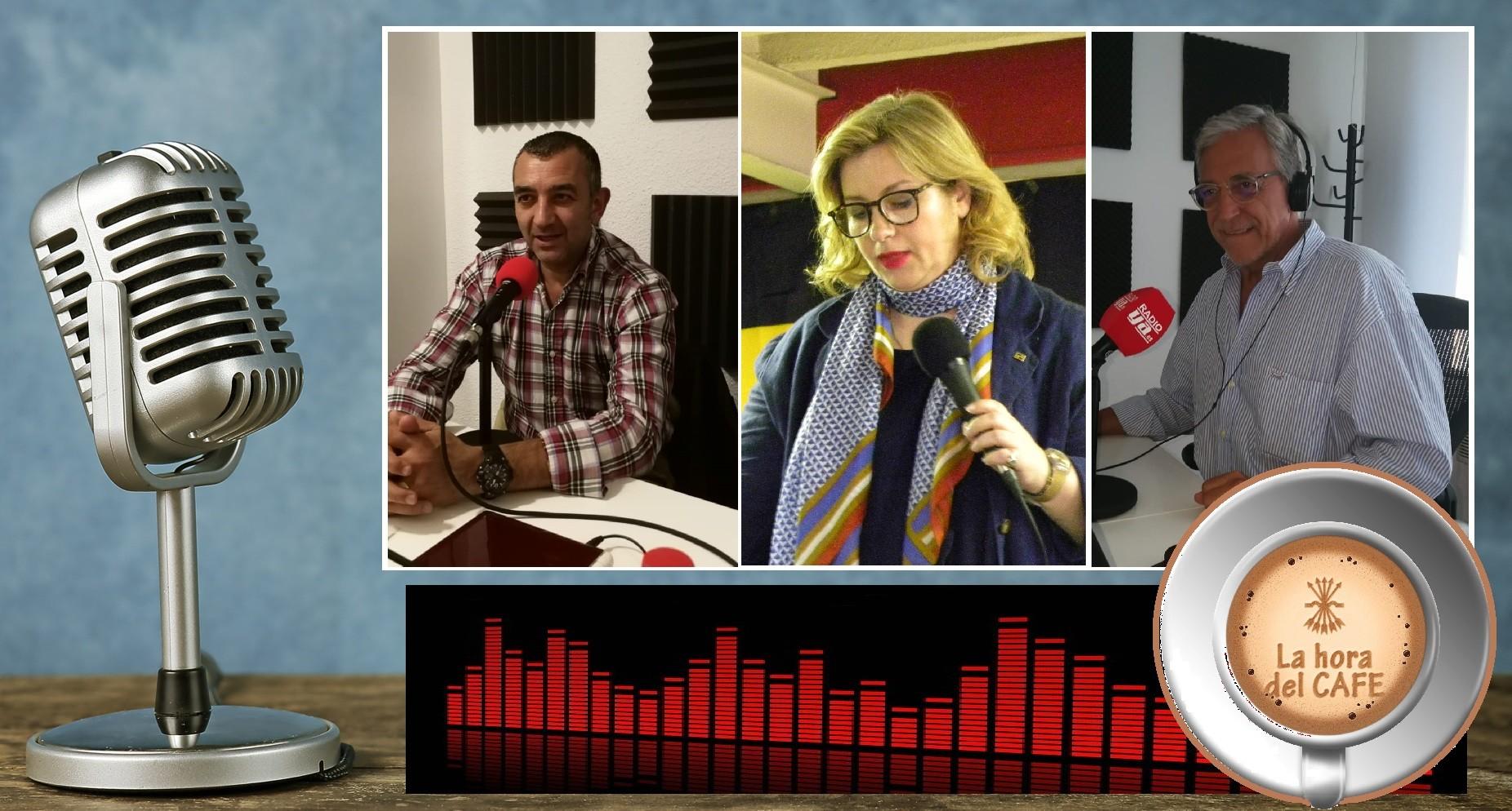 """""""La Hora del CAFÉ"""" con Irene Dimopoulou (Amanecer Dorado) y Manuel Andrino"""