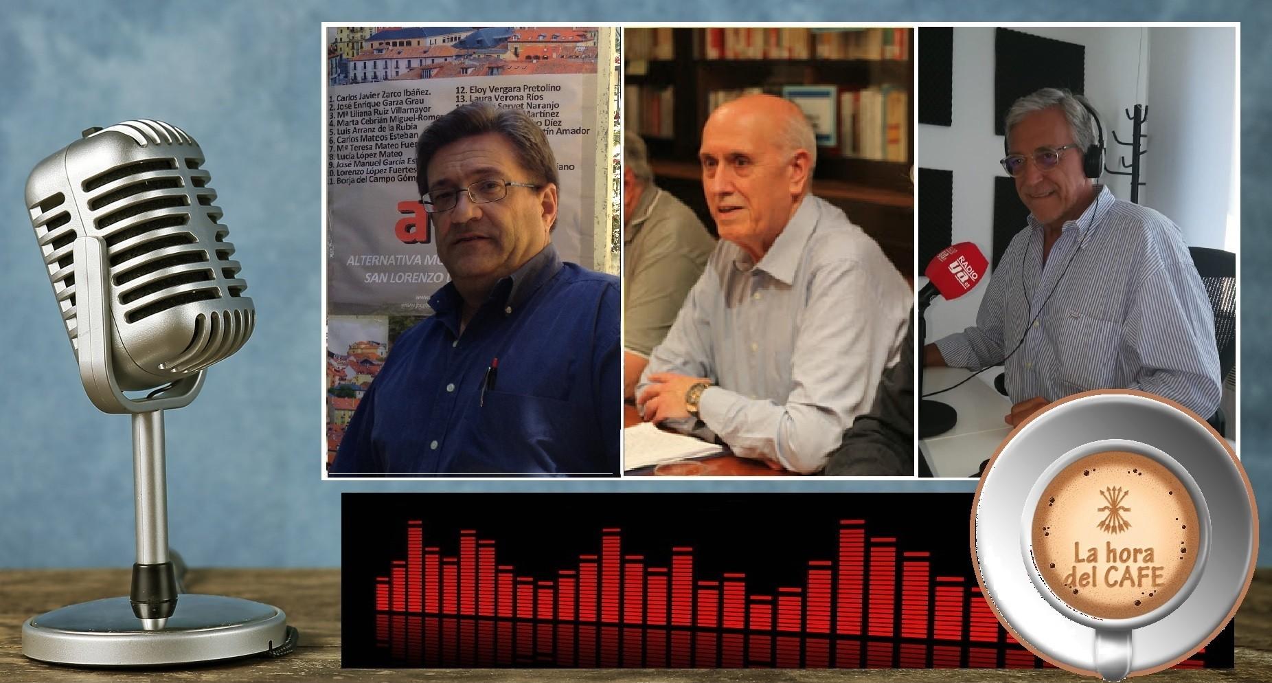 """""""La Hora del CAFÉ"""" con el concejal Carlos Zarco y el escritor Luis López Novelle"""