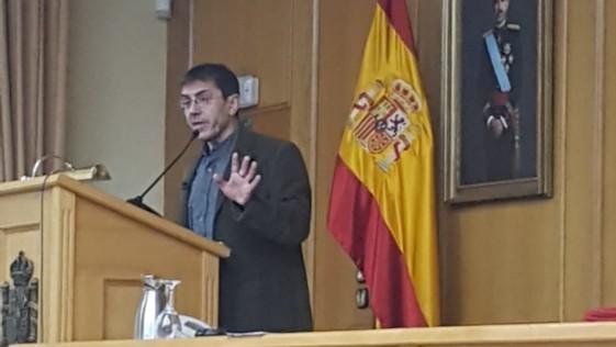 """Juan Carlos Monedero, """"profesor"""" de los mandos de nuestro Ejército"""