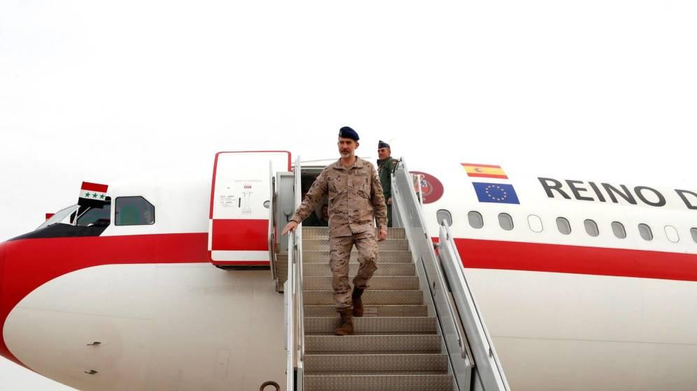 """Vergonzoso viaje del """"jefe"""" de las Fuerzas Armadas a Irak"""
