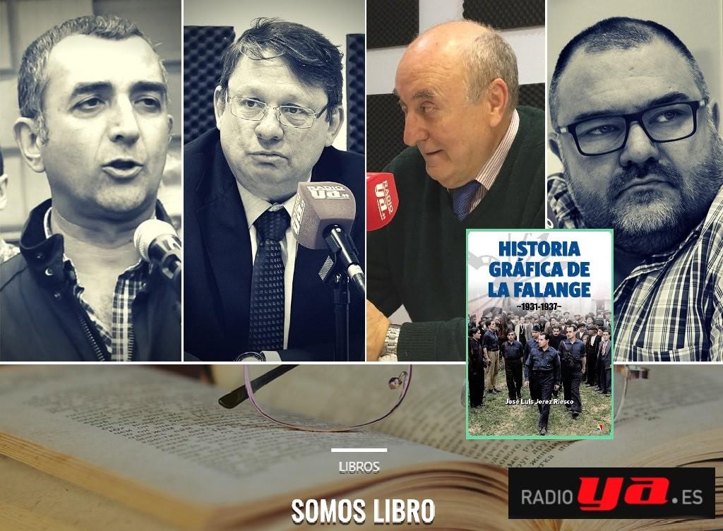 """""""Somos libro"""" dedica su última edición a la """"Historia Gráfica de la Falange"""""""