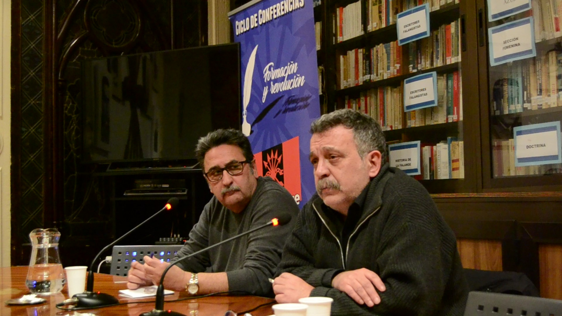 """Vídeo de la conferencia de Gustavo Morales """"Terrorismo: ayer y hoy"""" en Vieja Guardia"""