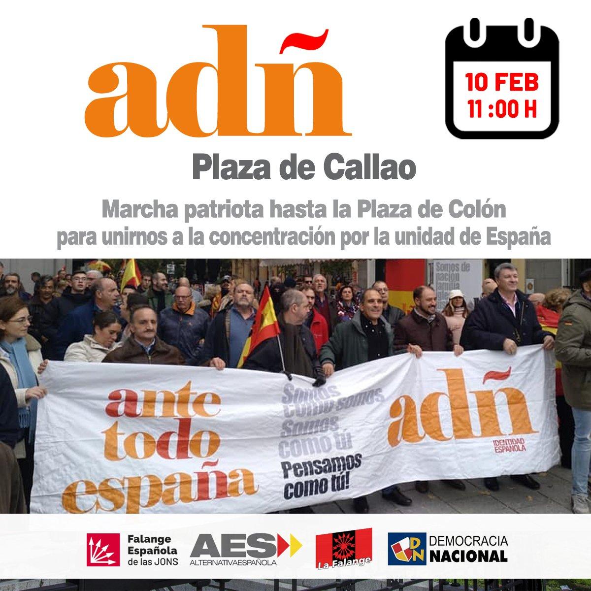 10-F: Defiende España junto a la coalición ADÑ