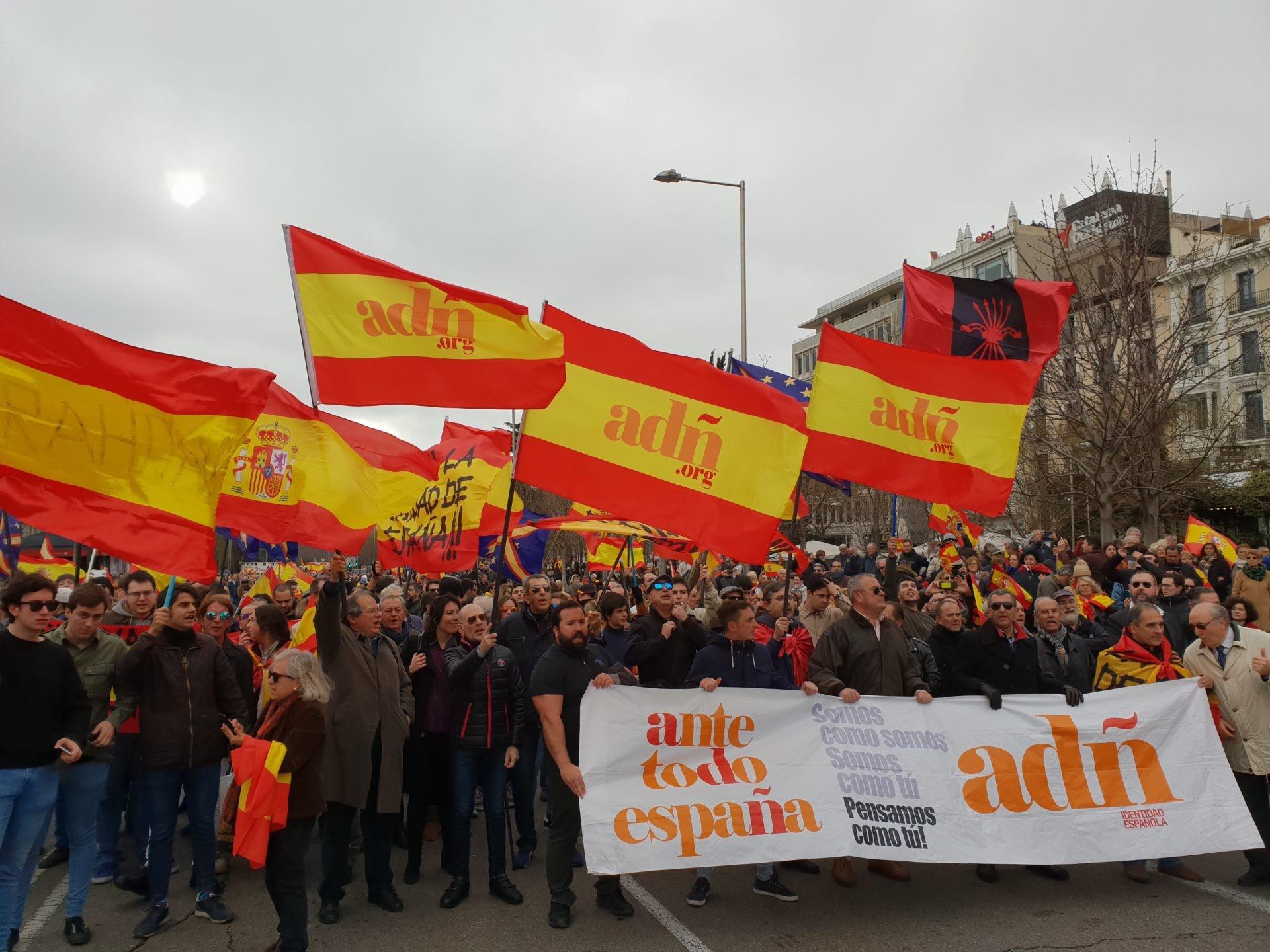 Marcha Patriota de la Coalición ADÑ desde Callao hasta Colón