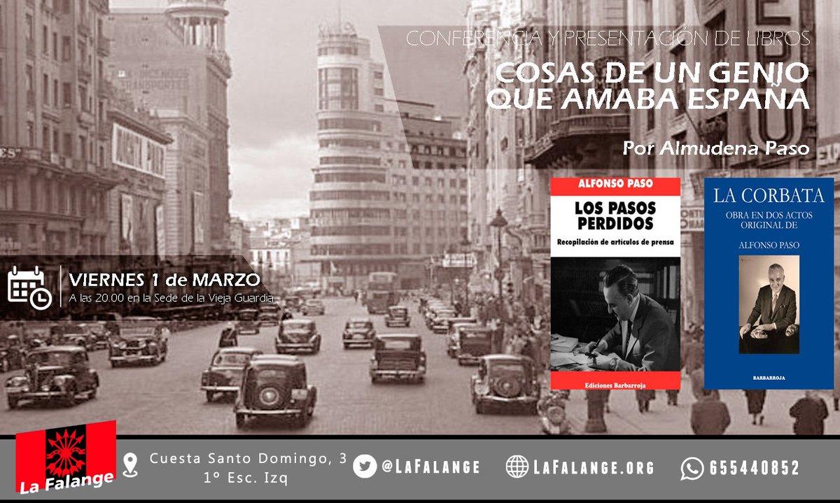 1-M Viernes cultural: Alfonso Paso, un genio que amaba España