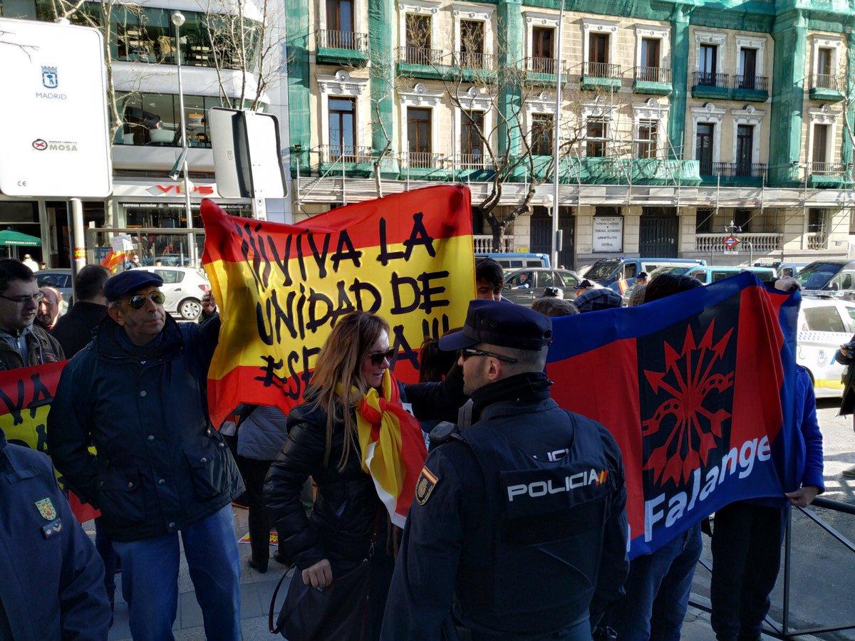 Frente al separatismo terrorista ¡VIVA LA UNIDAD DE ESPAÑA!