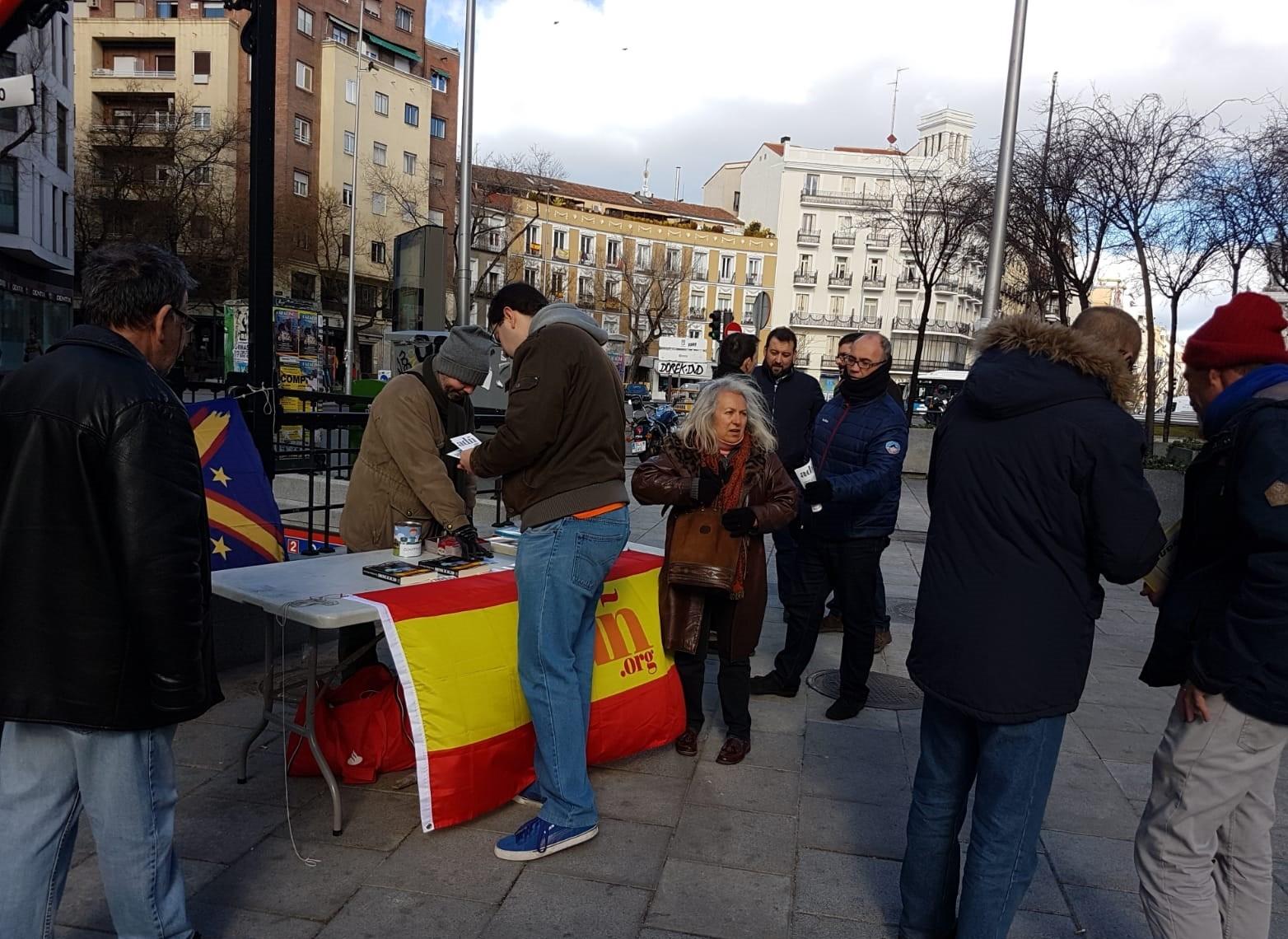 Nuevo éxito de ADÑ en el barrio madrileño de Chamberí
