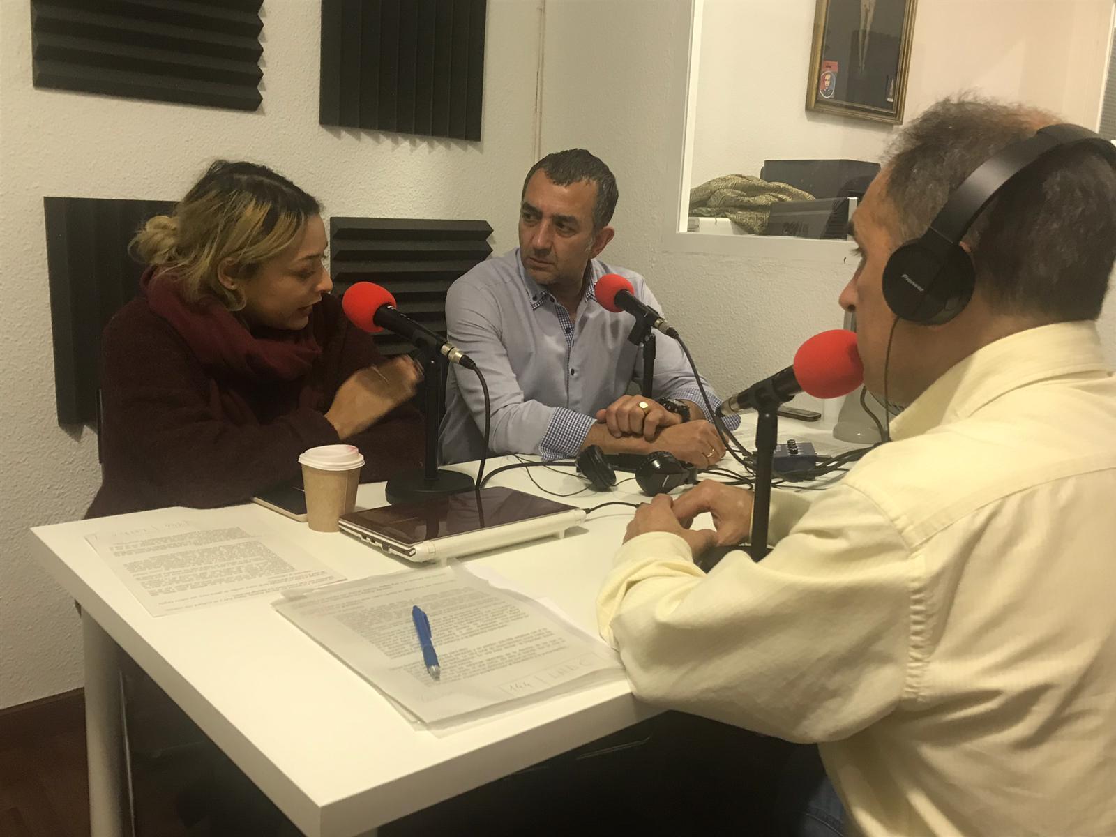 """""""La Hora del CAFÉ"""" con Melisa Ruiz, Juan Pedro Marín y Manuel Andrino"""