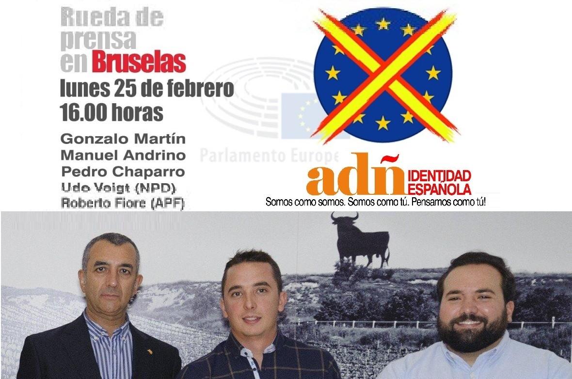 El Parlamento Europeo prohíbe la rueda de prensa de ADÑ