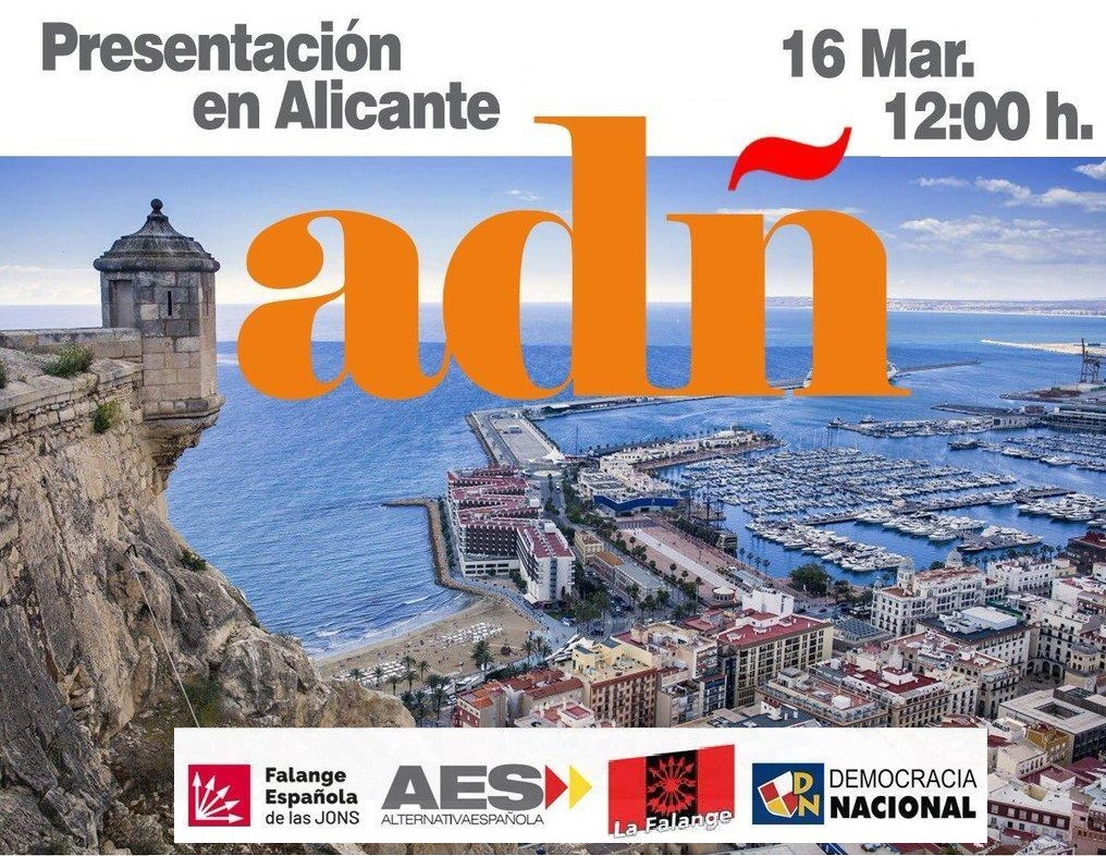 Sábado 16: Presentación de ADÑ en Alicante
