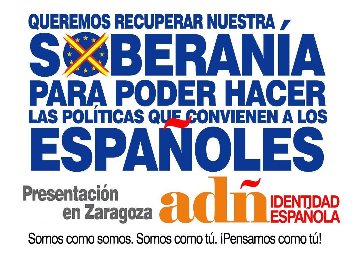 10-Marzo: Presentación de ADÑ en Zaragoza