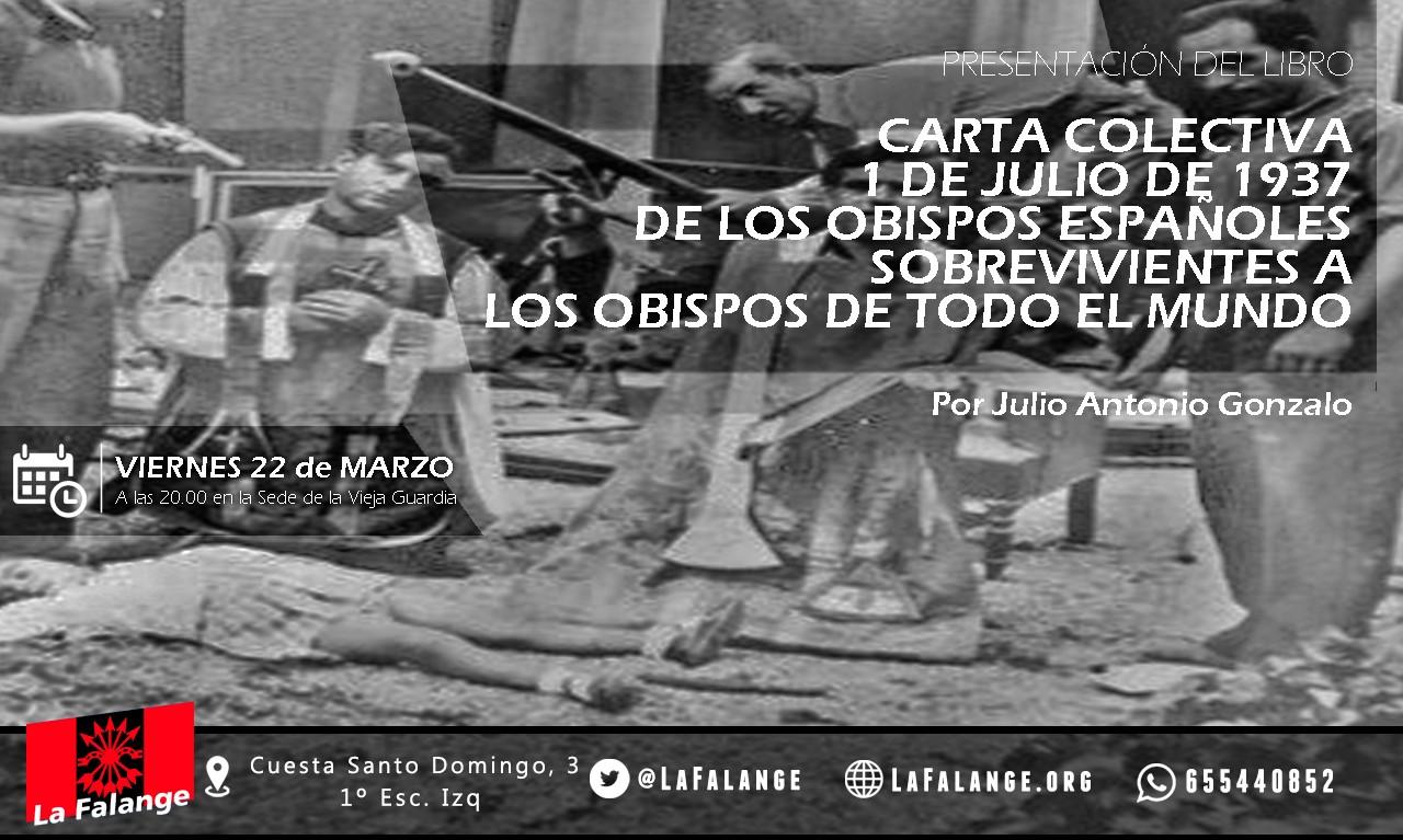 22-M: Viernes cultural para desmemoriados históricos con Julio A. Gonzalo