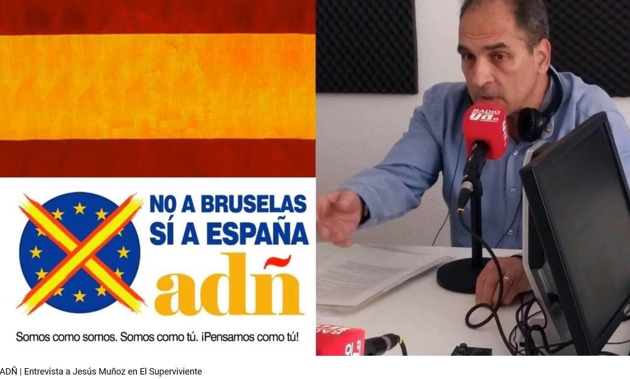 """Jesús Muñoz: """"ADÑ es el auténtico antisistema, que denuncia todo lo negativo de este sistema y además propone soluciones"""""""